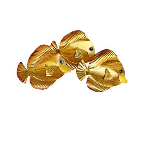 3D Yellow Tangs 3