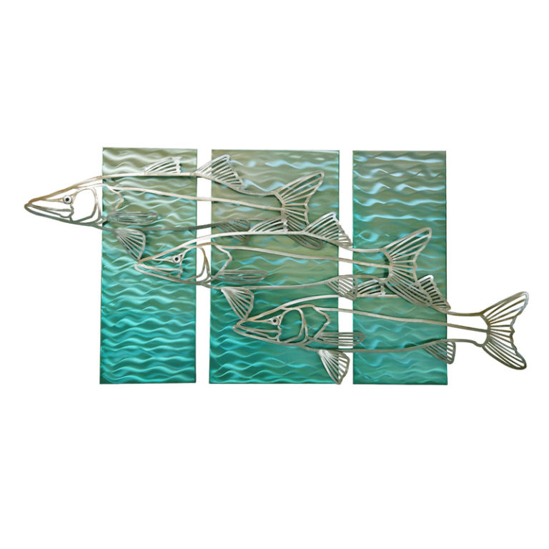 Abstract Snook 3 pieces